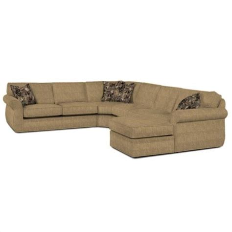 broyhill veronica sectional sofa broyhill veronica upholstered raf chaise sectional sofa in