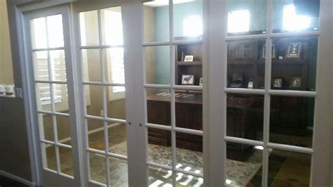 installation   french sliding doors system
