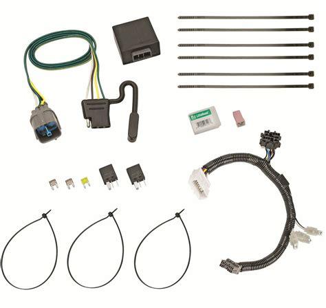 Honda Pilot Hitch Wiring by 2012 2015 Honda Pilot Trailer Hitch Wiring Kit Harness