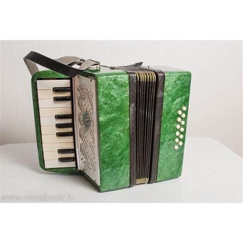 Rotaļlieta, bērnu mūzikas instruments, akordeons, PSRS ...