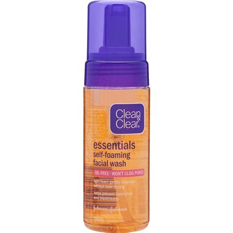 Harga Clean Clear Essentials clean clear essentials cleanser self foaming