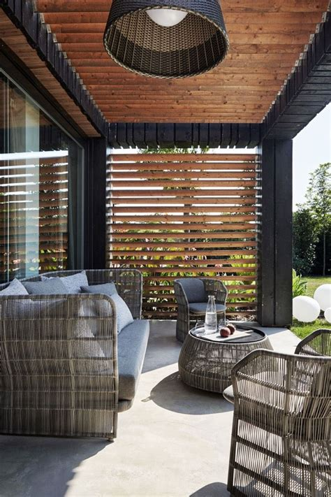 Sonnenschutz Terrasse Holz by Terrasse 252 Berdachung Holz Jalousien Sonnenschutz Haus In