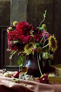 Bouquet De Fleurs : un bouquet de fleurs automnales marie claire ~ Teatrodelosmanantiales.com Idées de Décoration
