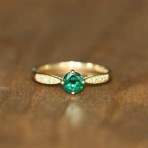emerald gold engagement rings yellow gold emerald engagement rings engagement ring unique engagement ring