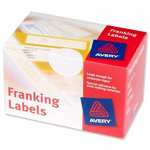 avery franking labels 2 per sheet 140x38mm white ref fl01 With avery labels 2 per page