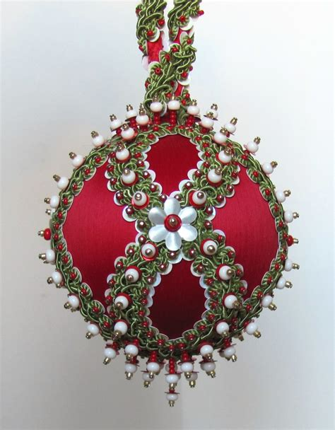 beaded christmas ornament kit chalet