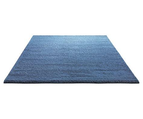 tapis shaggy en polyester et bleu clair wool