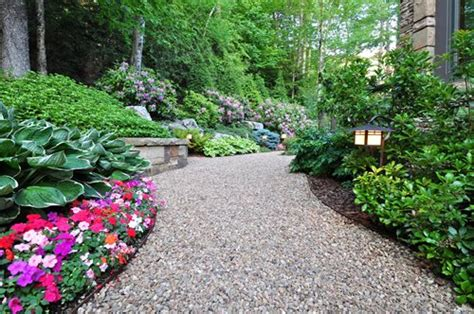 walkways and paths ideas for lanscaping landscaping ideas for a semi circle driveway