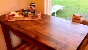 Diy Tips For Staining A Natural Wood Table