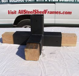 picture  steel connector    lumber wood