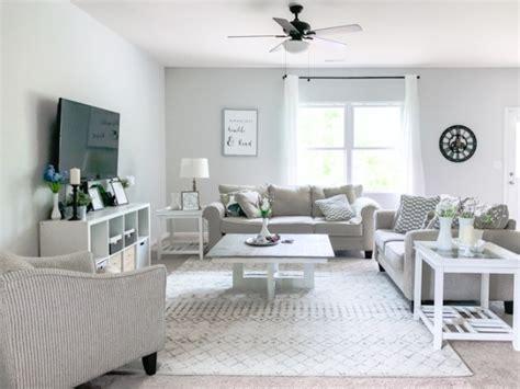 Our Neutral Modern Farmhouse Living Room