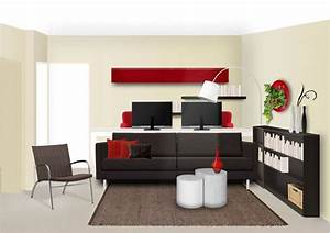 deco salon salle a manger petit espace With deco petit espace salon