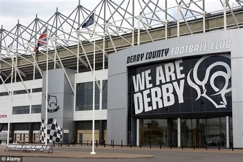 Derby re-name Pride Park 'The iPro Stadium' | Daily Mail ...