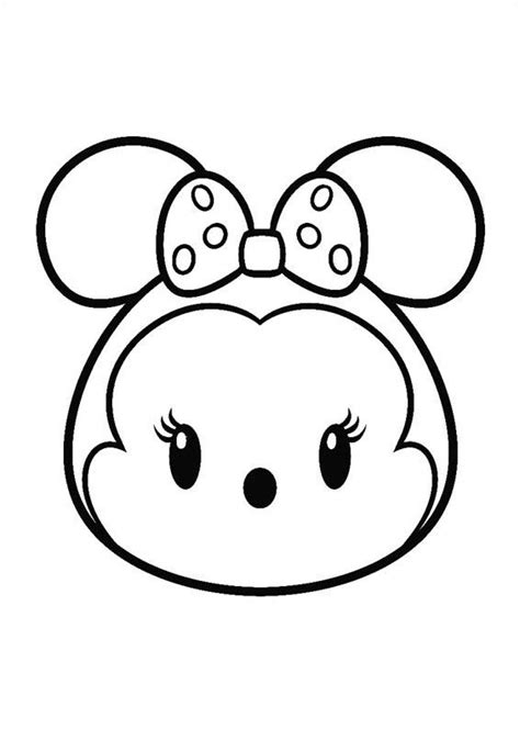 disney tsum tsum coloring pages getcoloringpagescom