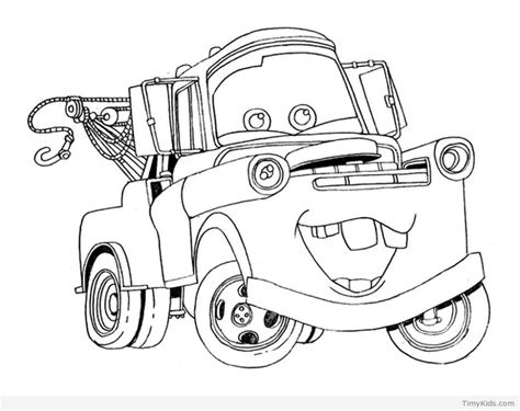 20 Disney Cars Coloring Pages Timykids