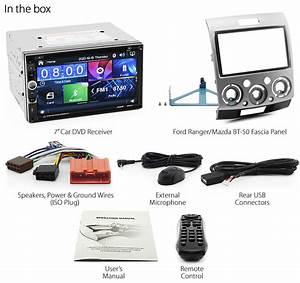 Car Dvd Radio For Ford Ranger Mazda Bt