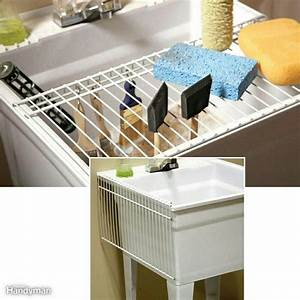 Basement Sink Drying Rack