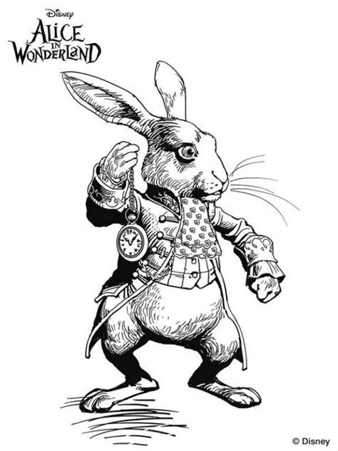 conejo pelicula alicia pais de las maravillas tim burton