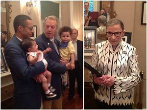 Ruth Bader Ginsburg Officiates Renewal of Vows for U.S ...