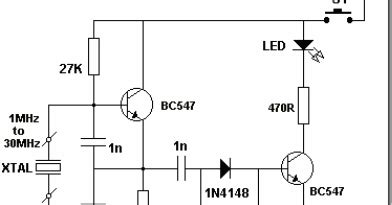 Radio Circuits Blog Crystal Tester