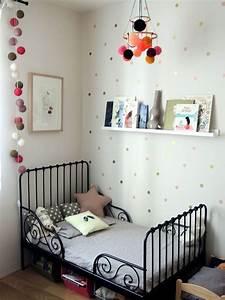 Lit Fille Ikea : lit ikea noir pour enfant chambres des loustics ~ Premium-room.com Idées de Décoration
