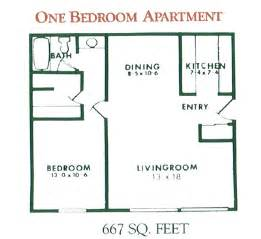 one bedroom floor plan 1 bedroom apartment floor plan for rent at willow pond
