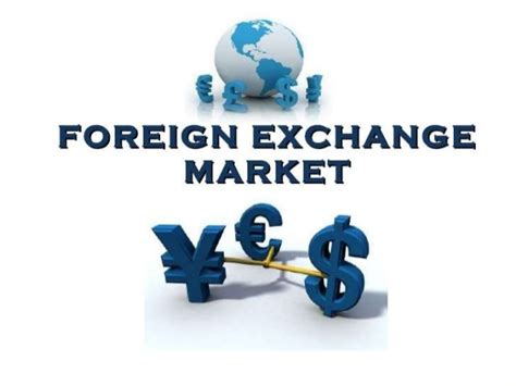 foreign exchange trading forex market ppt