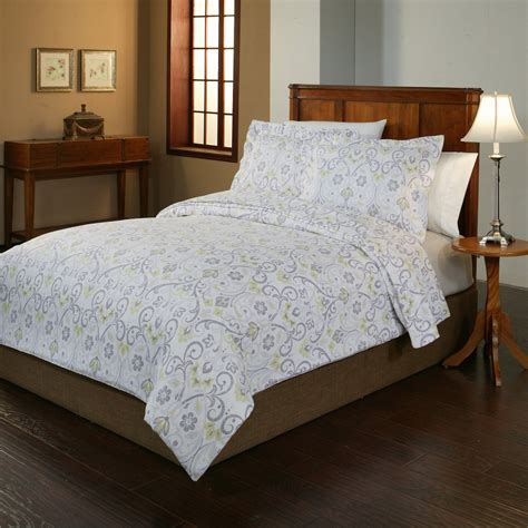 flannel duvet cover pointehaven meadow flannel duvet cover collection