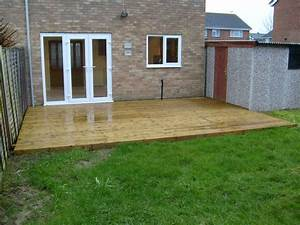 Decking & Patio Areas