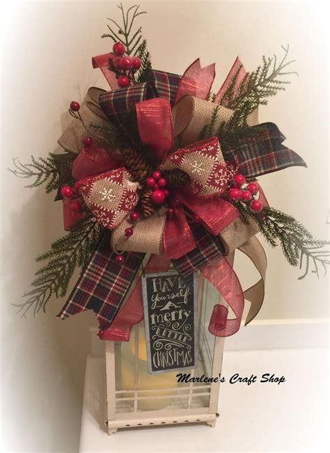 burlap bow burlap christmas bow christmas tree topper