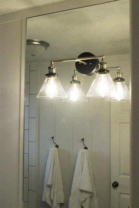 mount  light  top   mirror bathroom vanity