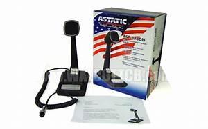Astatic Ast878dm Amplified Desk Microphone