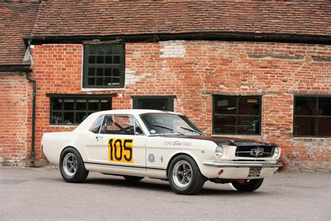 Caf Racer 76 1965 Ford Mustang 289 Racing Car