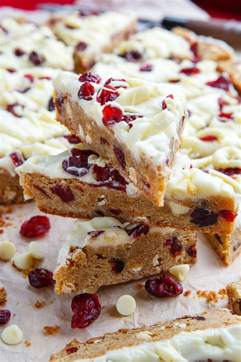 cranberry bliss bars recipe closet cooking holiday
