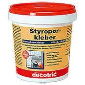Kleber Für Styropor : decotric styropor hartschaum kleber 1 kg bauhaus ~ Frokenaadalensverden.com Haus und Dekorationen