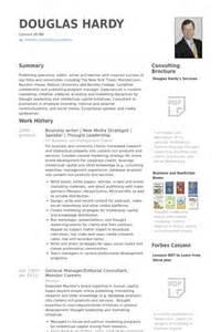 Banking Resume Template Business Resume Sles Visualcv Resume Sles Database