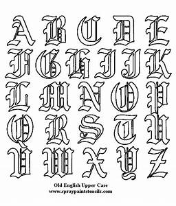 calligraphy alphabet old english calligraphy alphabet With english block letters