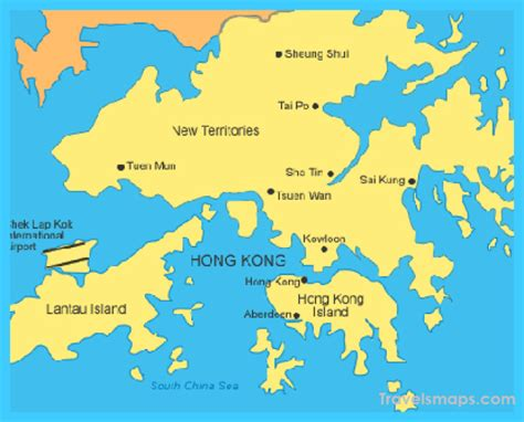 hong kong china hong kong china map map