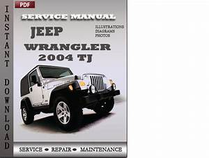 Jeep Wrangler 2004 Tj Factory Service Repair Manual Download