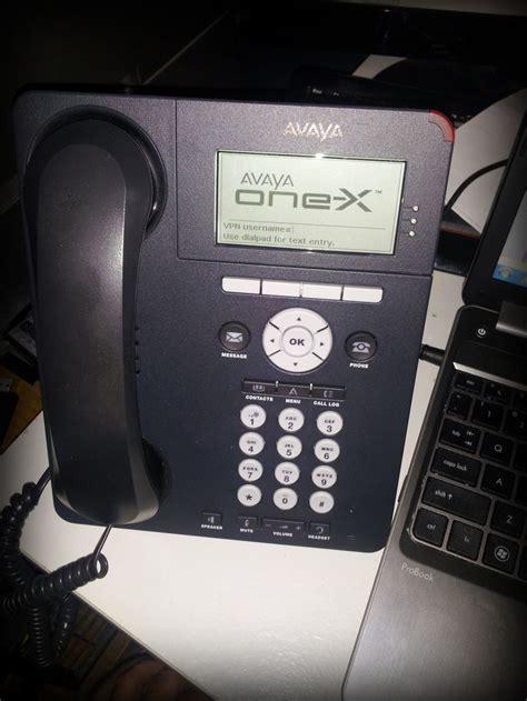 Avaya 9620L set up as a VPN phone   Avaya   Pinterest   Phone