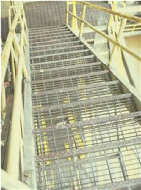 Bar Grating Stair Treads, Galvanized Treads