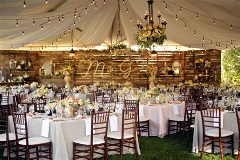 backyard chic utah wedding backyard wedding decorations