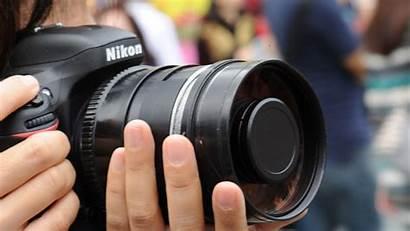 Nikon Camera Lens Hands Hand Digital Reflex