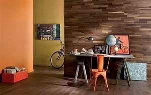 parquet noyer huile naturelle bois mural duo 141 With parquet mural bois