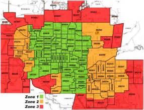 Zip Code Map Phoenix AZ