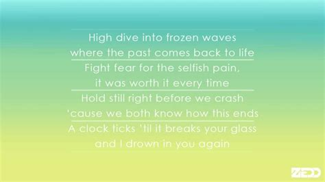 Clarity Feat Foxes- Lyrics Video
