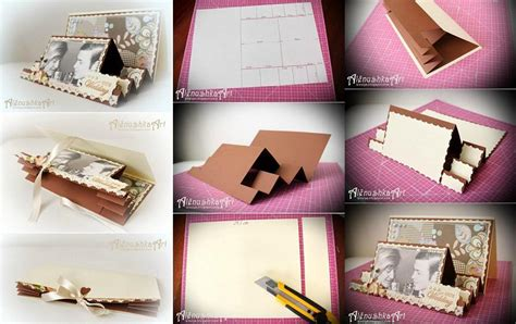 how to make 3d wedding card step by step diy tutorial