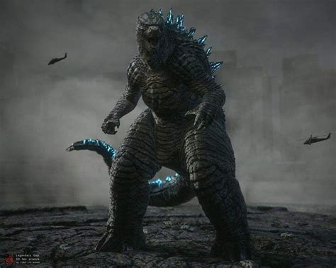 Legendary Godzilla. Very Physical, Yet With A Weak Atomic