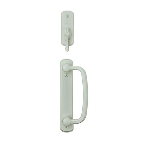 andersen sliding door lock andersen albany 2 panel gliding patio door hardware set in