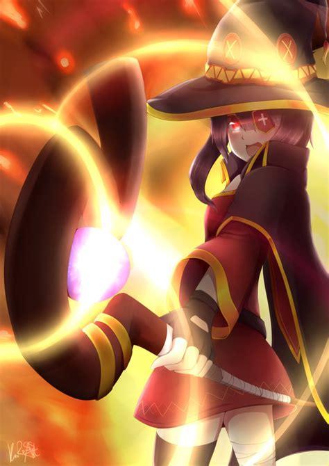Megumin Animated Wallpaper - media explosion konosuba